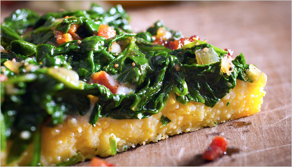 Mark Bittman's Polenta Pizza