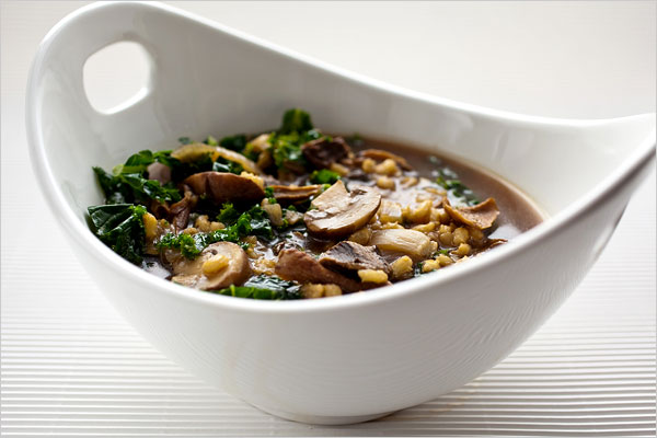 Mushroombarleysoup